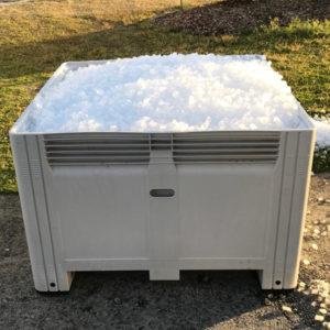 cylindrical ice