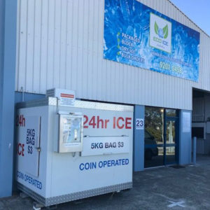 ice bag dispenser